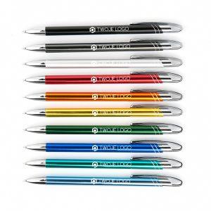 długopisy metalowe Avalo z grawerem